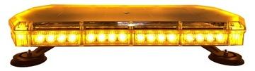 BELKA OSTRZEGAWCZA LED 60cm KOGUT MAGNES 12v 24v