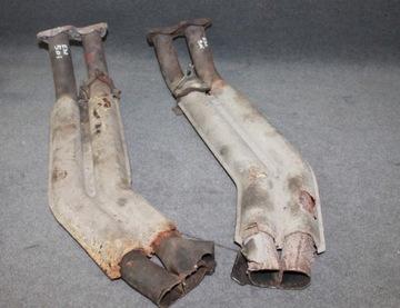 BMW E32 5.0 і 750i M70 вихлопні труби порт глушник