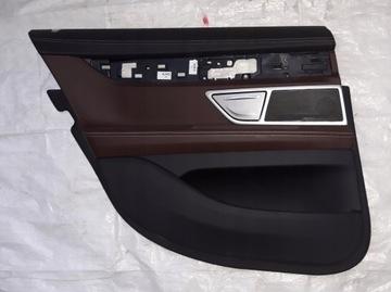 BMW 7 G11 BOCZEK TAPICERKA DRZWI TYL TYLNE LEWE