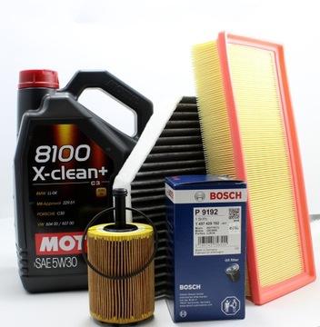 FILTRY + OLEJ MOTUL 5W30 AUDI A4 B8 A5 8T 2.0 TDI