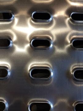 Blacha aluminiowa Lohr na najazdy.