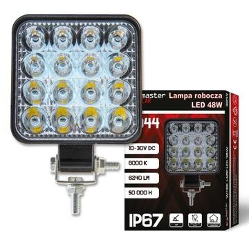 Lampa robocza LED 48W HALOGEN SZPERACZ 12V 24V