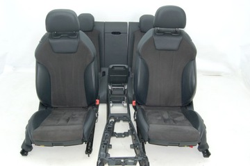 Tapicerka fotele komplet Audi A5 8W6 coupe