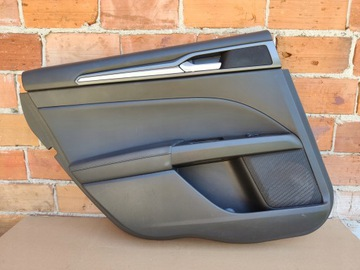Ford Mondeo MK5 boczek drzwi lewy tył skóra