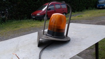 LAMPA OSTRZEGAWCZA KOGUT 12V 24V PROPLAST