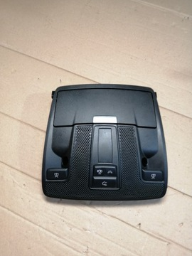 MB GLA W156 lampka podsufitki czarna a0009004908