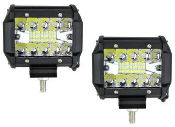 LAMPA PANEL ROBOCZY 20 LED 60W PARA 12V 24V COMBO