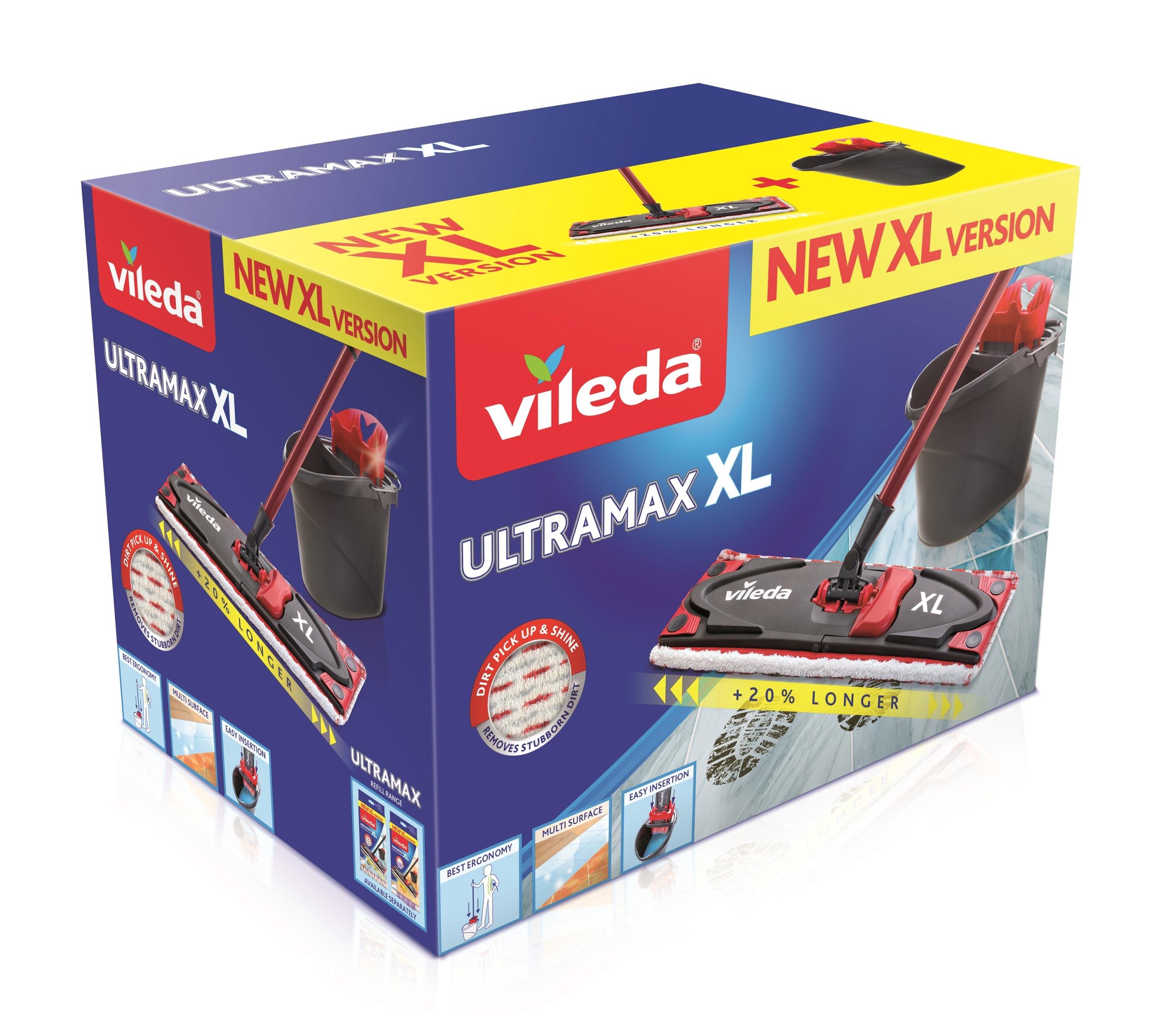Швабра плоская Vileda Ultramax XL 160932