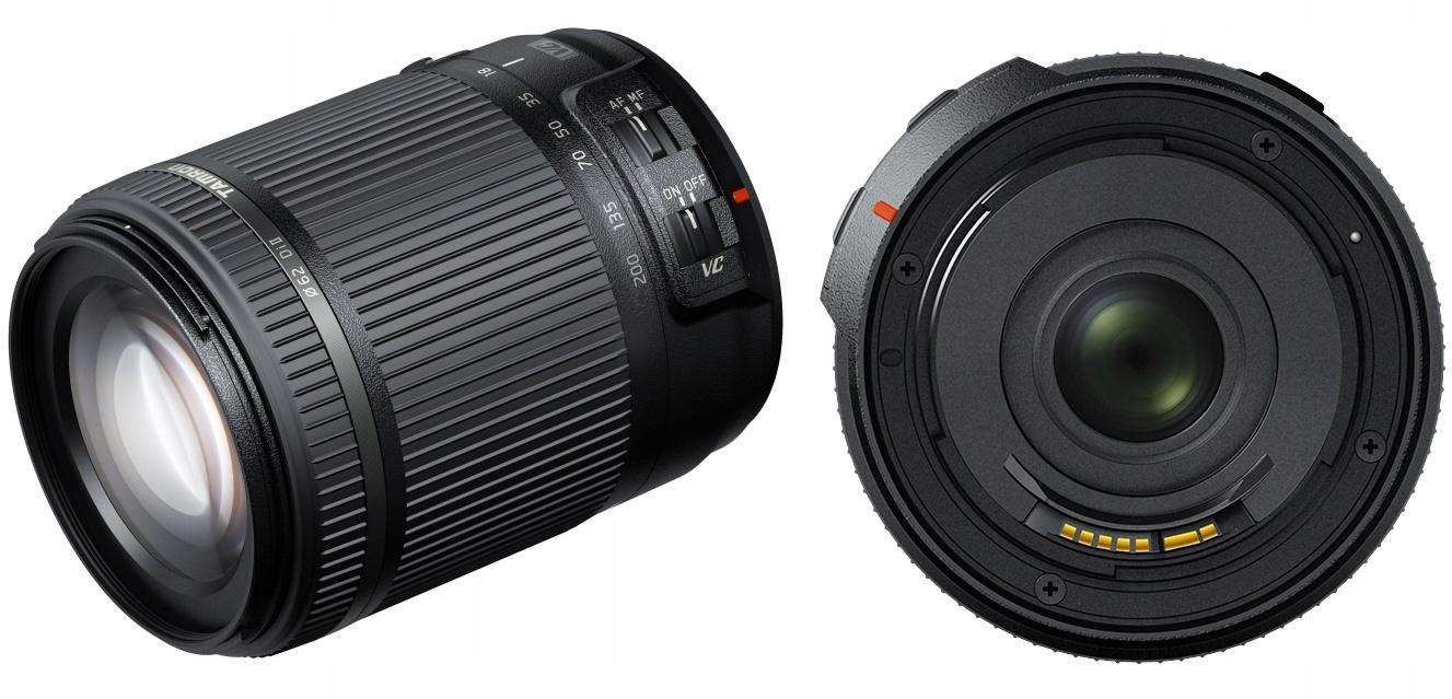 Obiektyw 18-200mm F3,5-6,3 VC Nikon