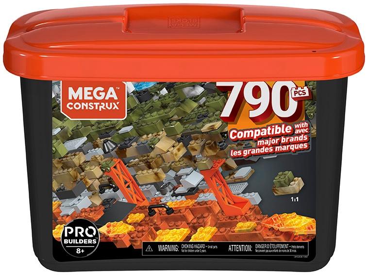 Mega Bloks Construx Pro blokuje 790 el. v nádobe