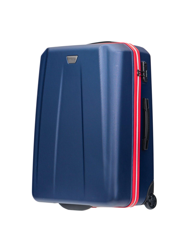 901aa2871d301 Duża walizka podróżna Puccini ABS Madrid twarda 7415510394 - Allegro.pl