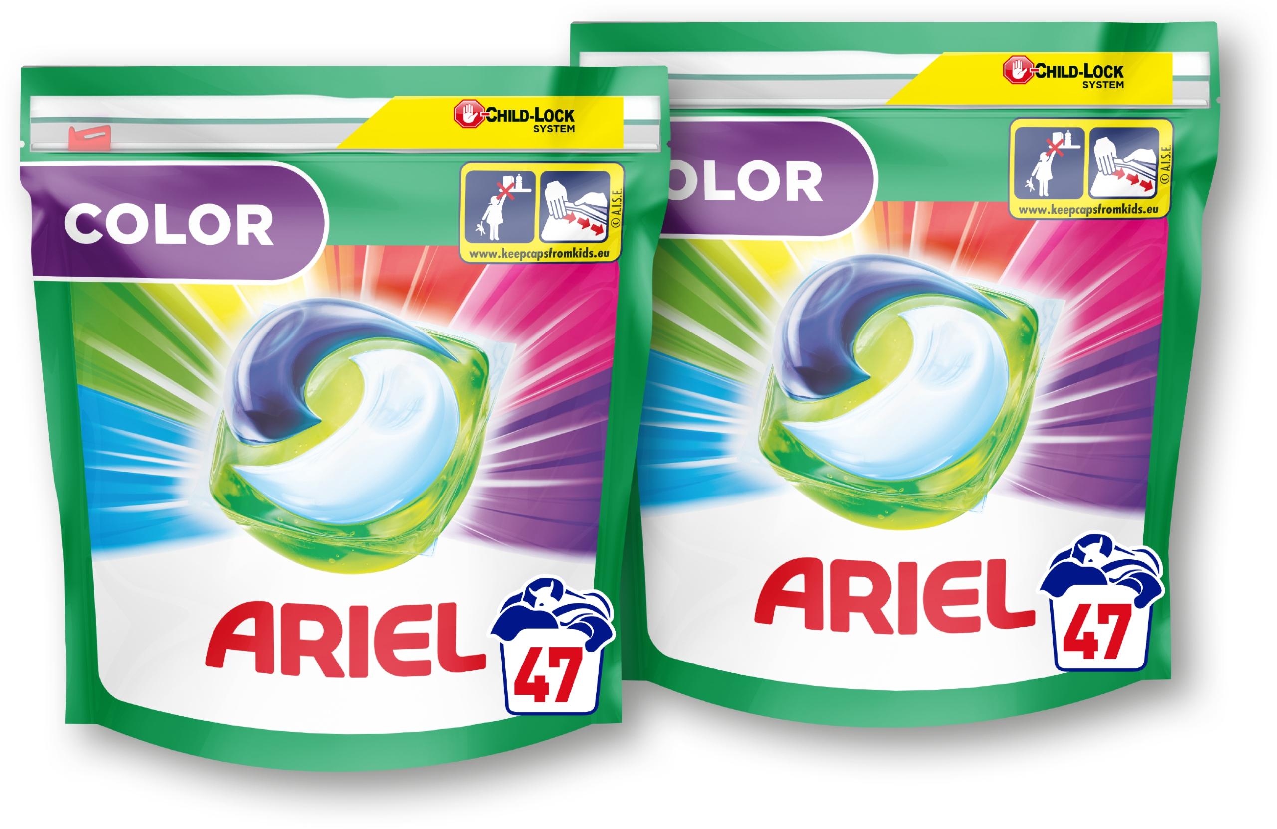 Ariel kapsułki do prania Color 2x47 szt