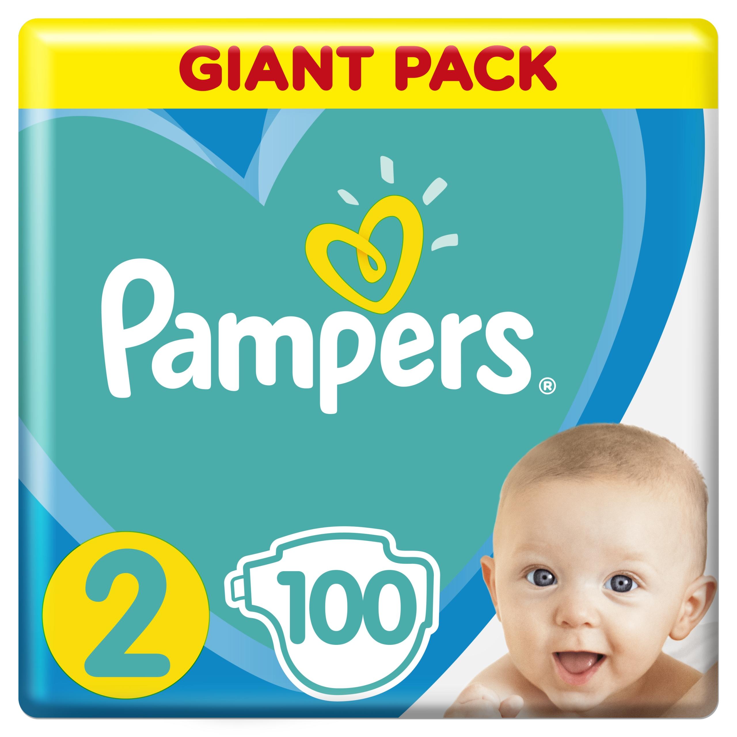 Pampers Подгузники Active Baby 2 Mini 100 шт.