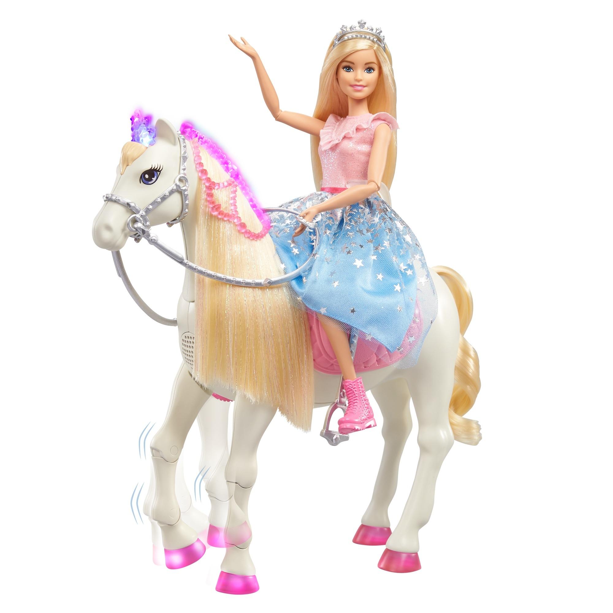 Barbie Princess Przygody Księżniczek Koń GML79 Marka Barbie