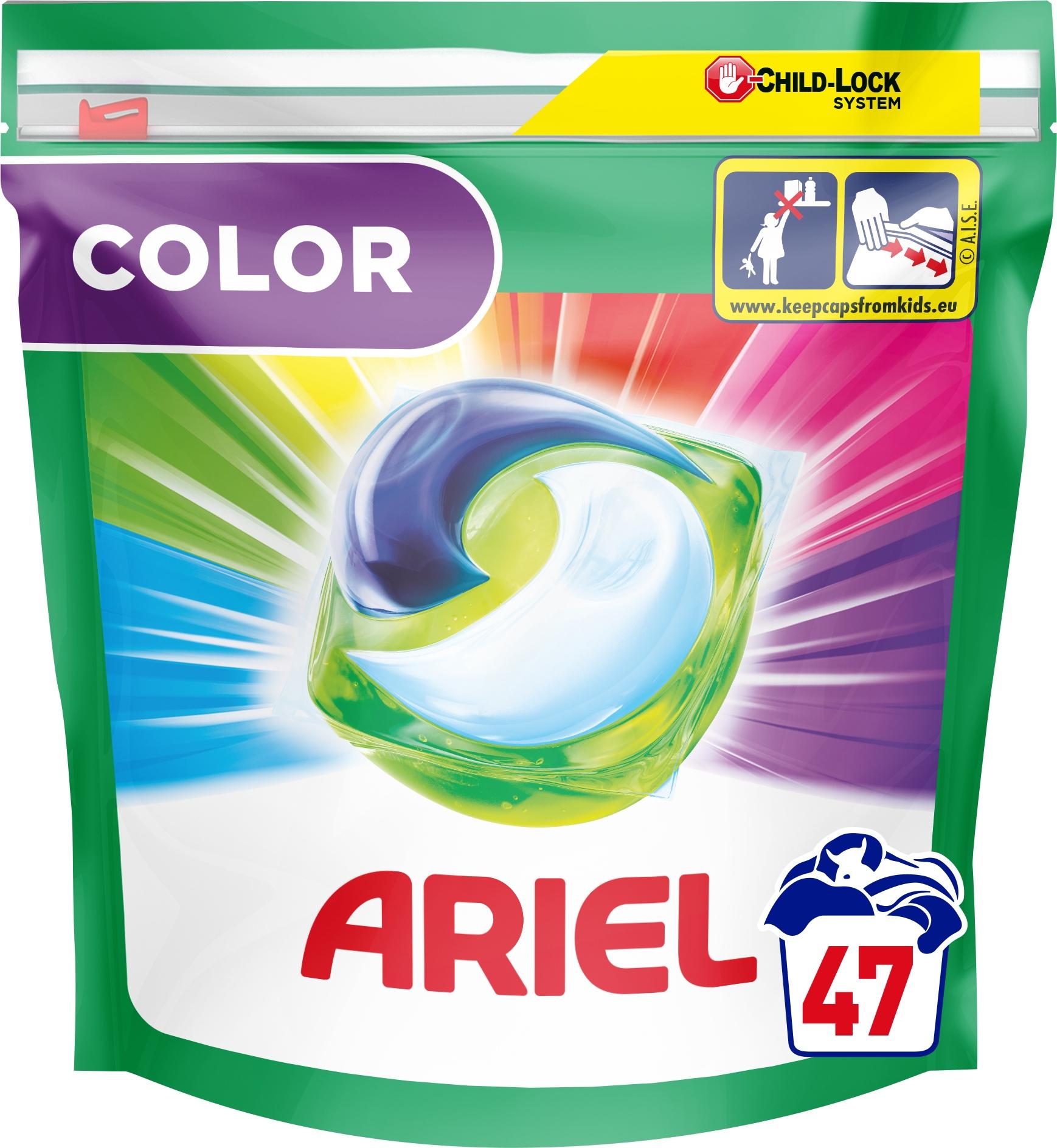 Ariel kapsułki do prania Color 47 szt