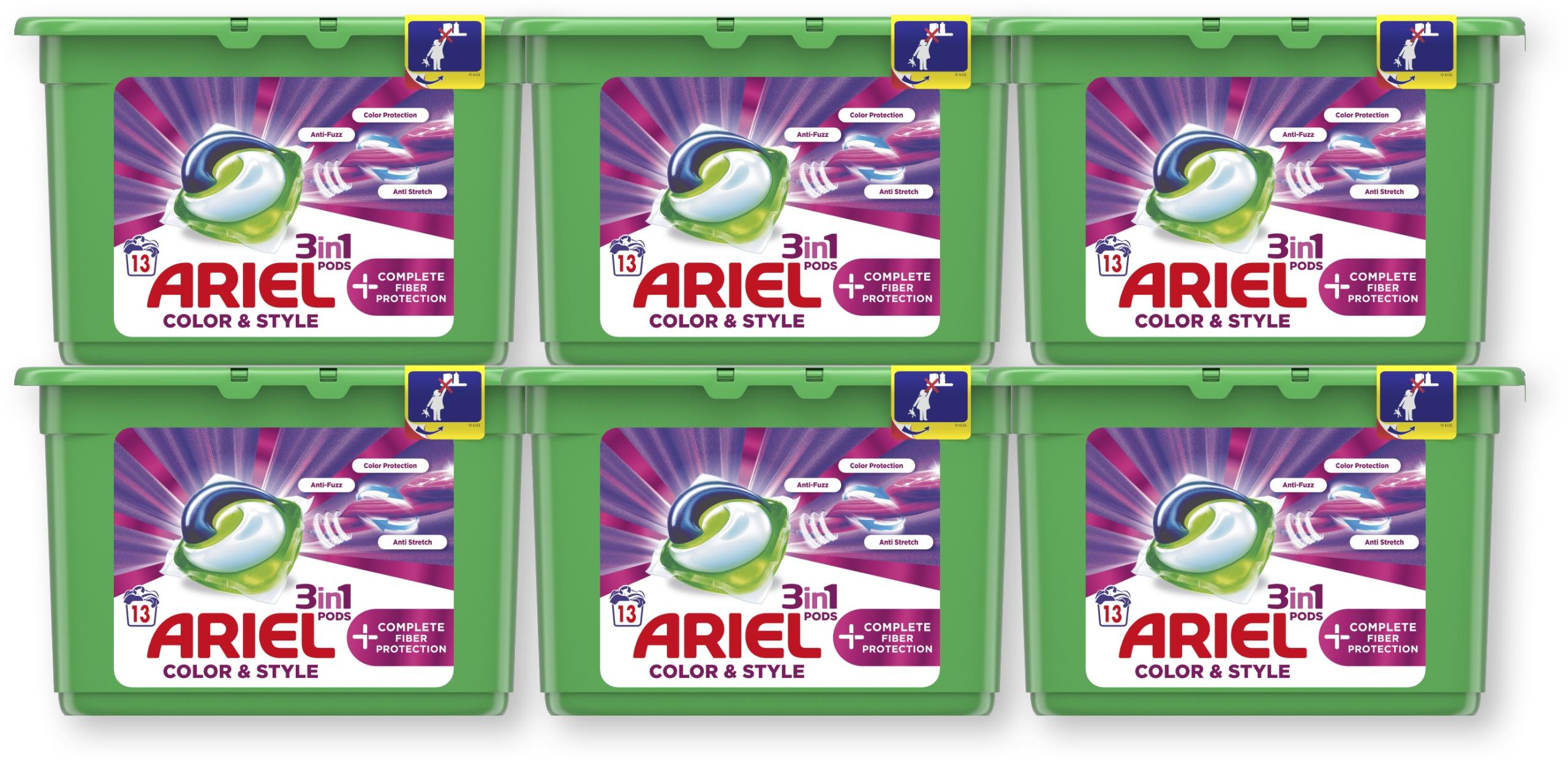 Ariel kapsułki do prania Complete 6x13 szt
