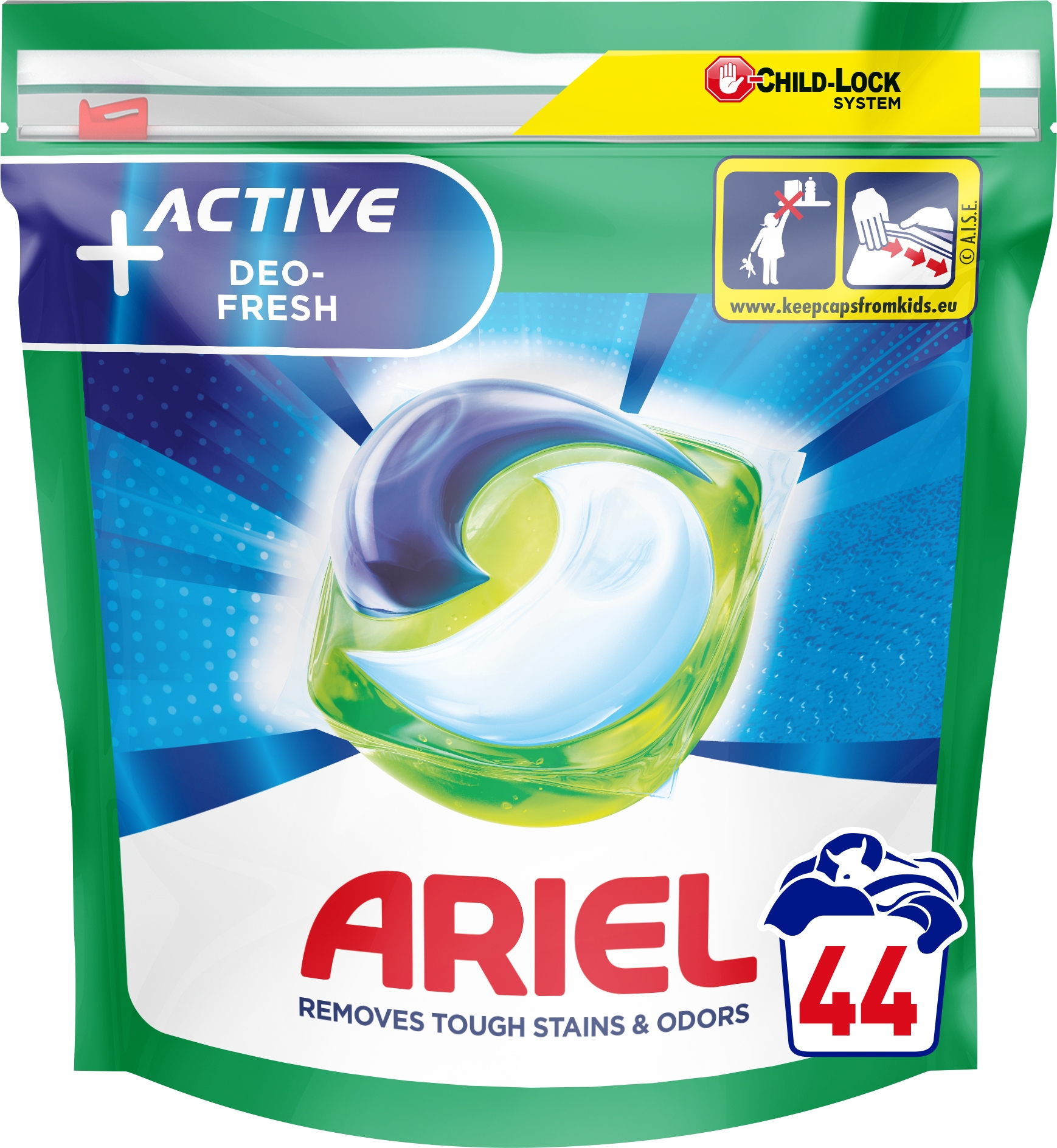 Ariel kapsułki do prania Active 44 szt