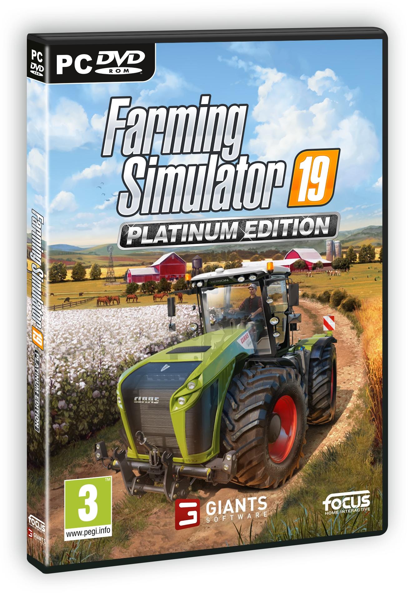 Item Farming Simulator 19, PC Edit platinum
