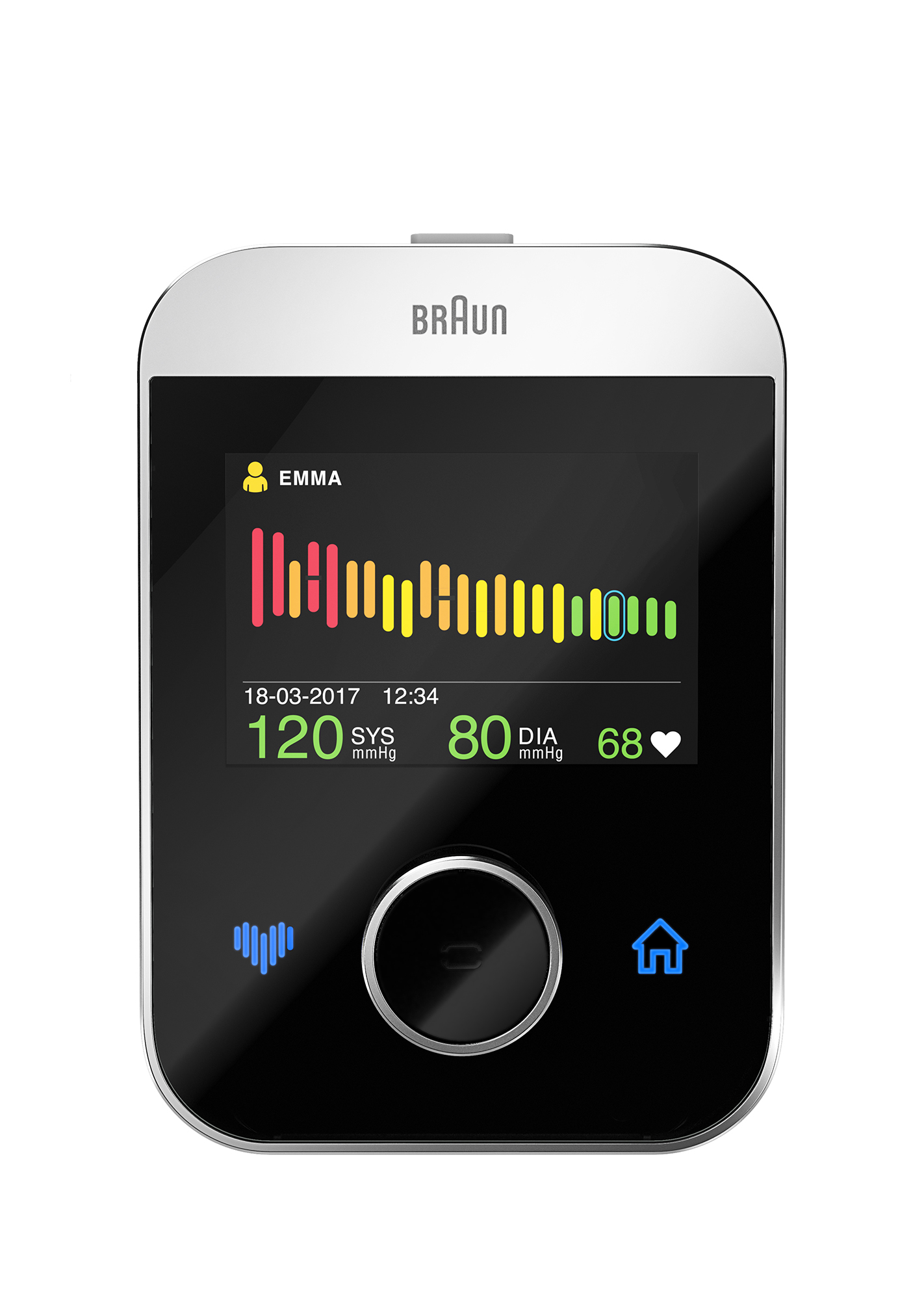 Ciśnieniomierz BRAUN ActivScan 9 BUA7200 Bluetooth