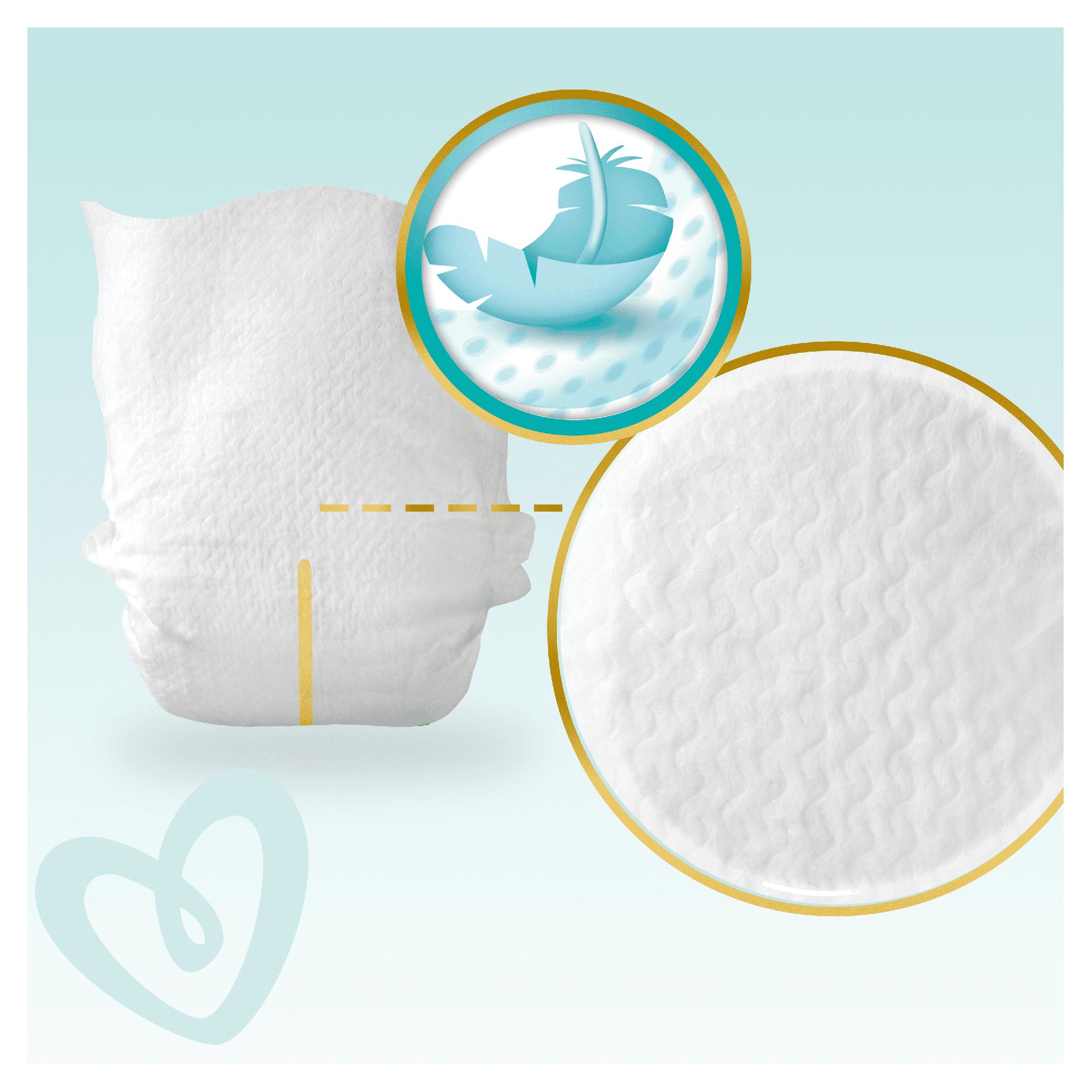 Pampers Premium Care 1 Newborn 78 pieluszek Waga produktu z opakowaniem jednostkowym 3.41251 kg
