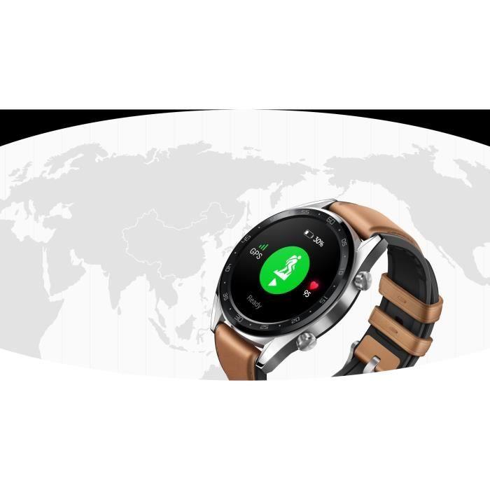 HUAWEI WATCH GT46 MM GPS SMARTWATCH CLASSIC FTNB19 Waga 46 g