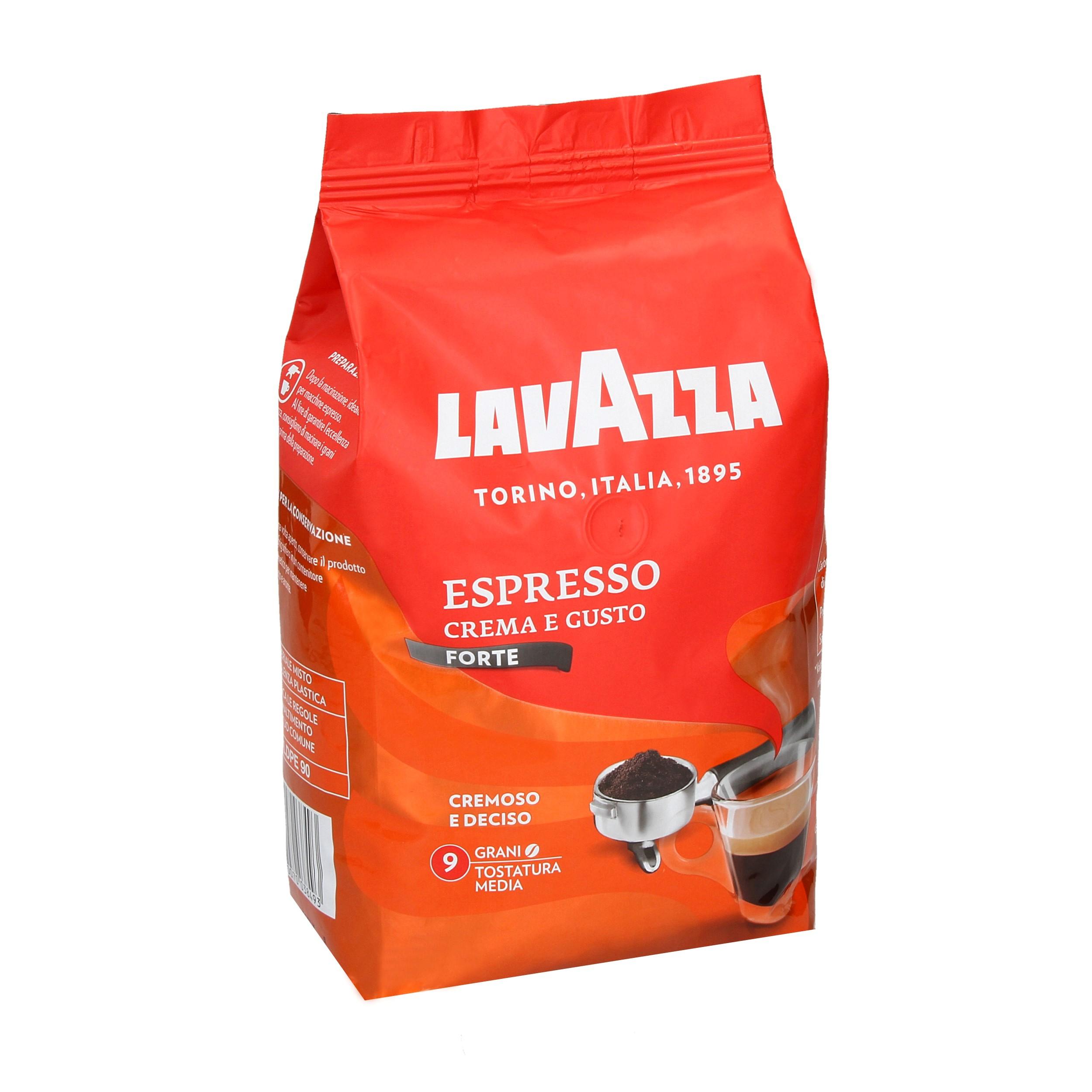 Item Lavazza Coffee beans of type Crema e Gusto Forte 1 kg