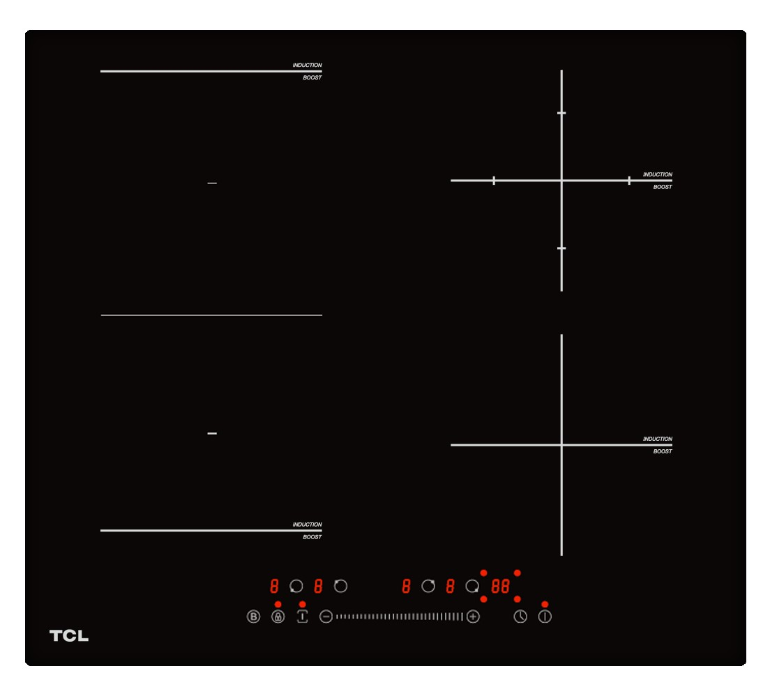 Płyta indukcyjna do zabudowy TCL TI59B4S1 booster