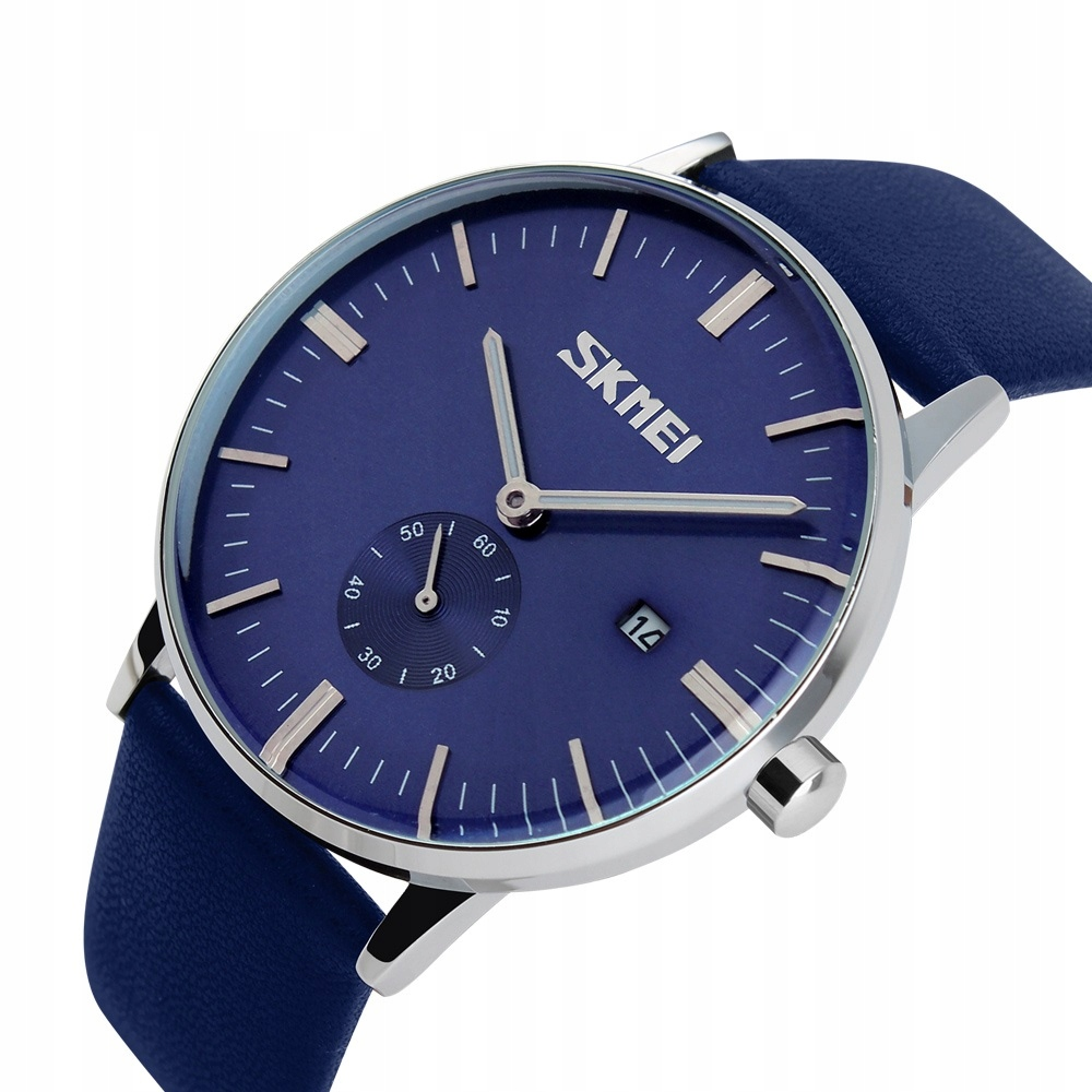 Pánske retro hodinky - koža - oblek - 4 farby