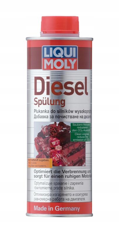 Liqui Moly Diesel Spulung 0,5 Л Очищает wtryski 2666