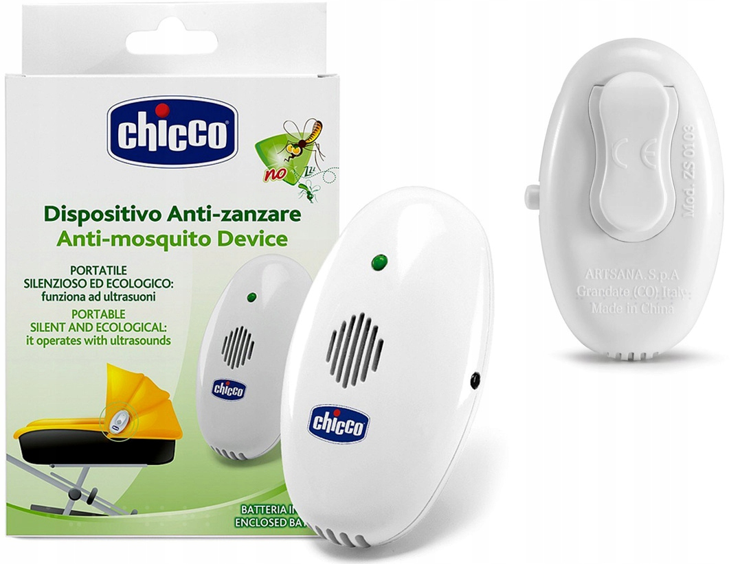 Item CHICCO PORTABLE ULTRASOUND MOSQUITO