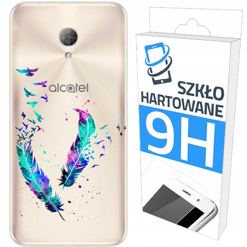 200 wz. Etui+szkło do Alcatel 3L Panel Plecki Case