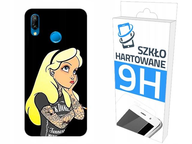 200 wzorów Etui+szkło do Huawei P20 Lite Plecki