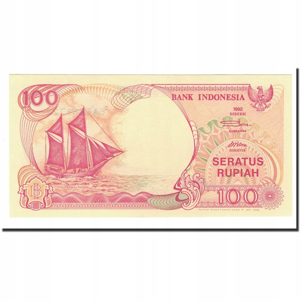 Банкнота, Индонезия, 100 рупий, 1992-2000, 1992-19