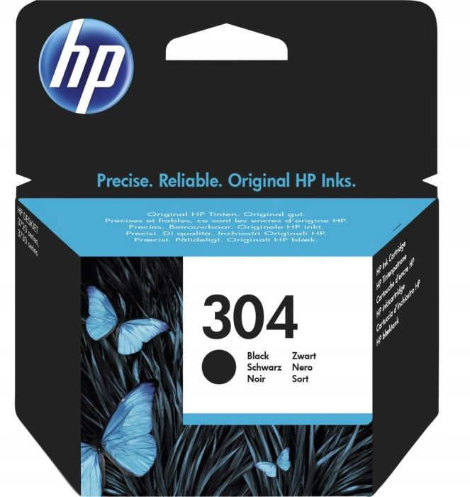 ORYGINALNY TUSZ HP 304 Black N9K06AE CZARNY NOWY Kod producenta N9K06AE