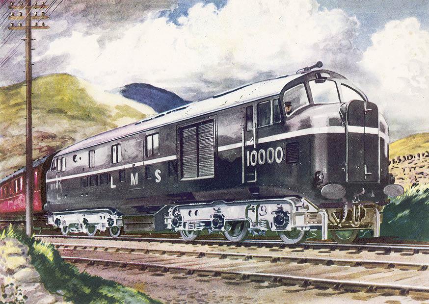 LMS Diesel Loco 10000