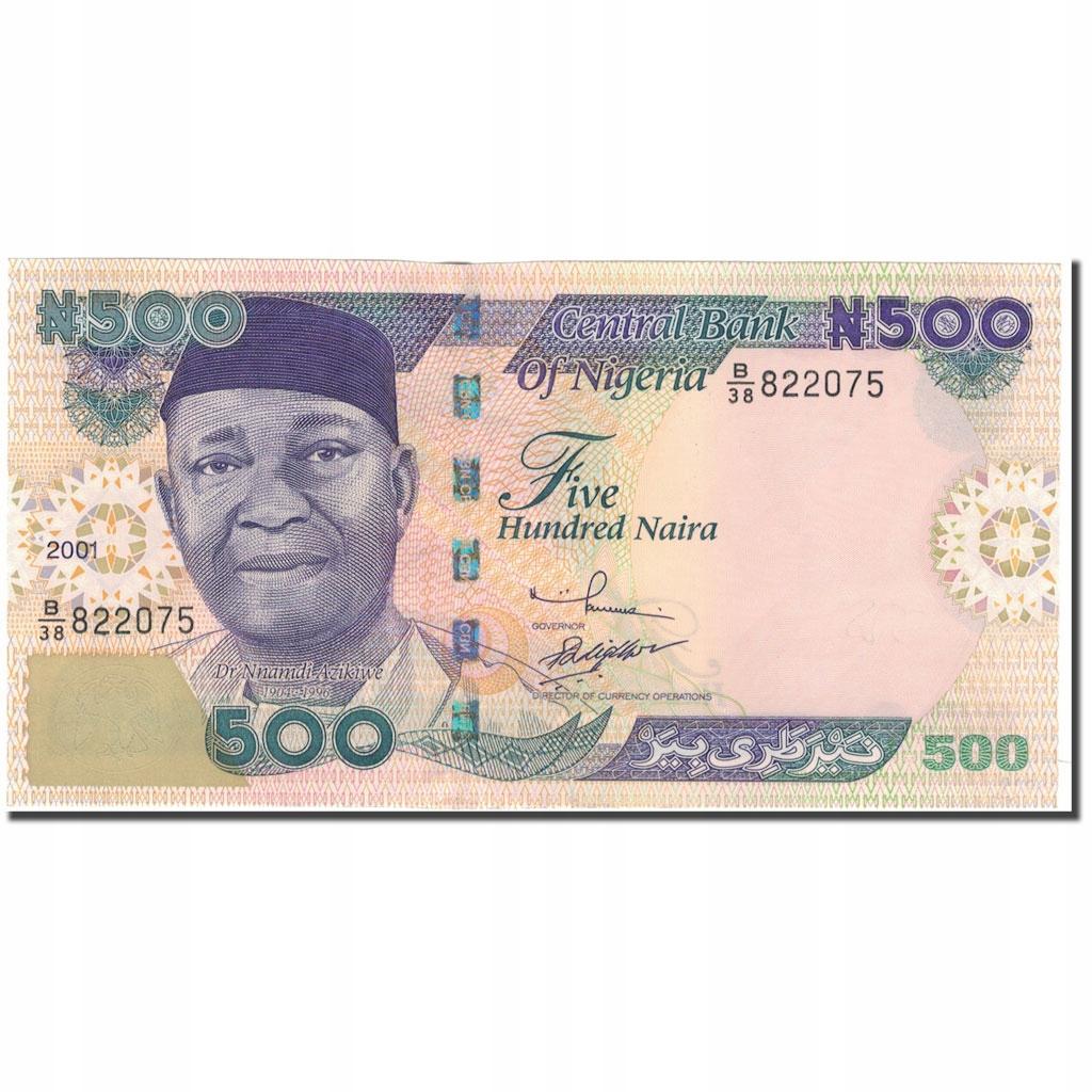 Банкнота, Нигерия, 500 найр, 2001, КМ: 30a, UNC (65-