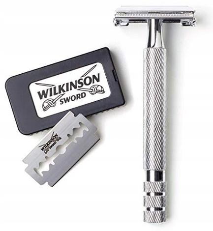 MASZYNKA do GOLENIA WILKINSON Premium + 5x ŻYLETKI