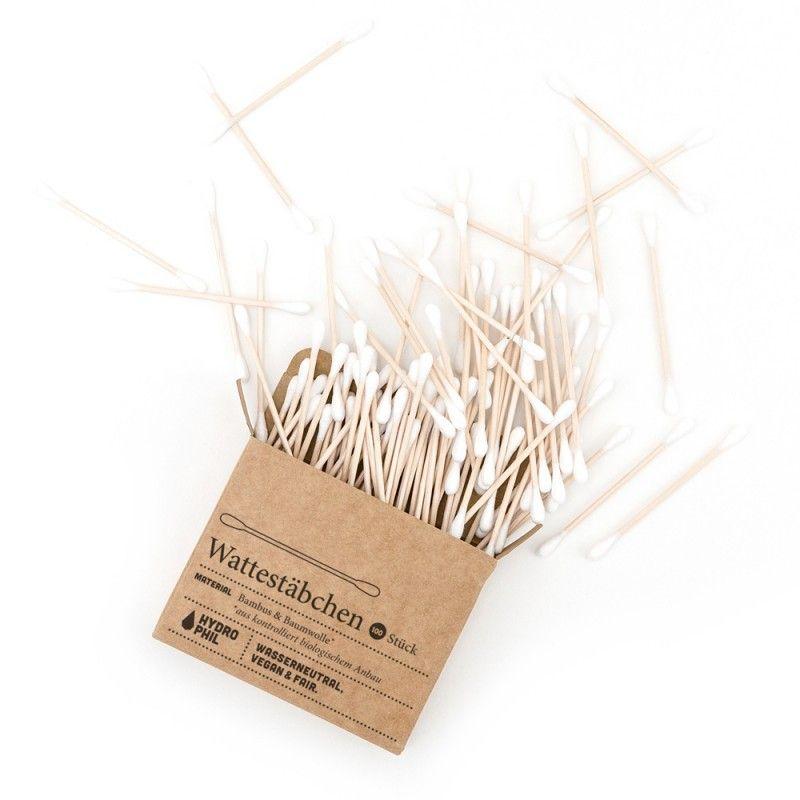 Patyczki higieniczne bambusowe ZERO WASTE 100 szt