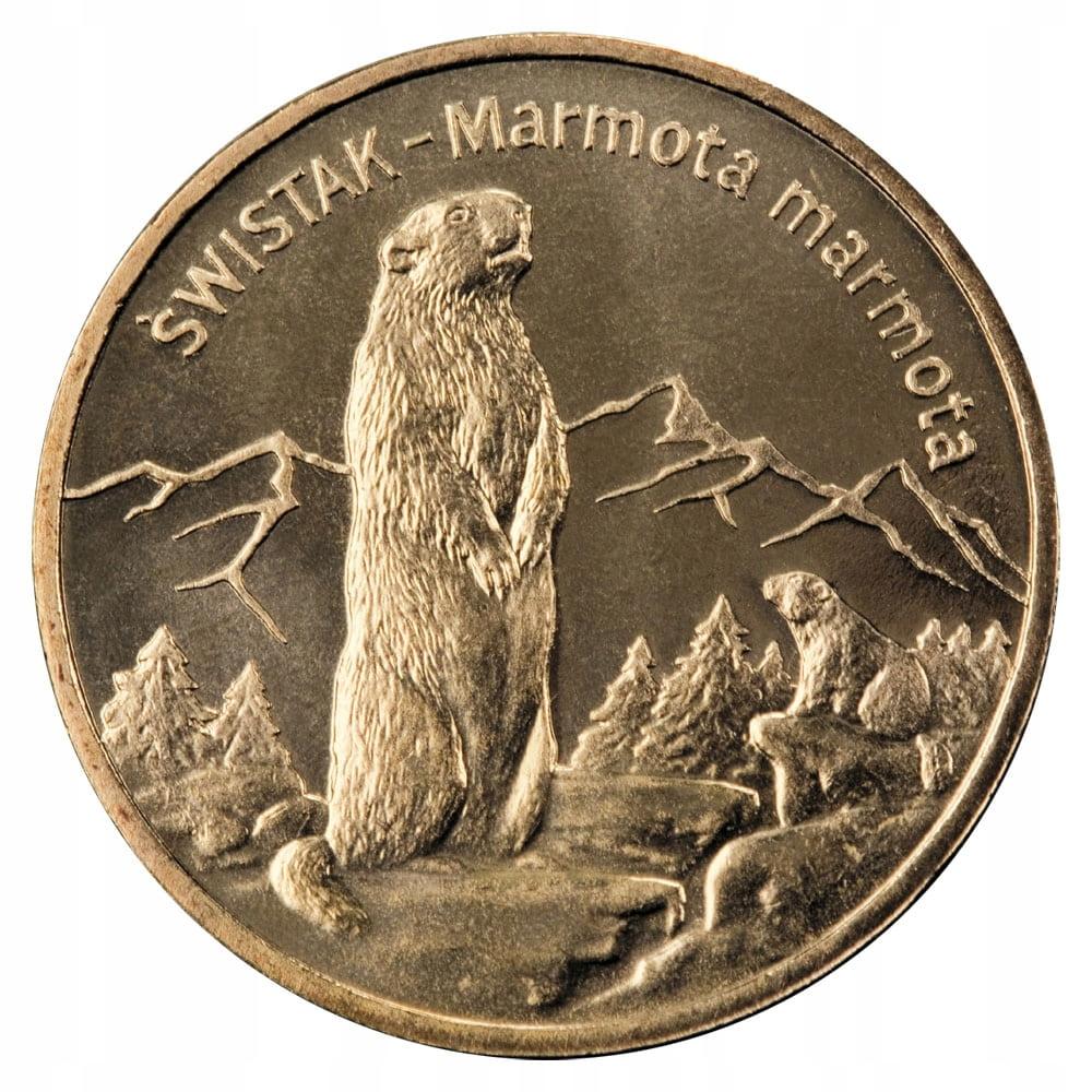 Монета 2  Сурок