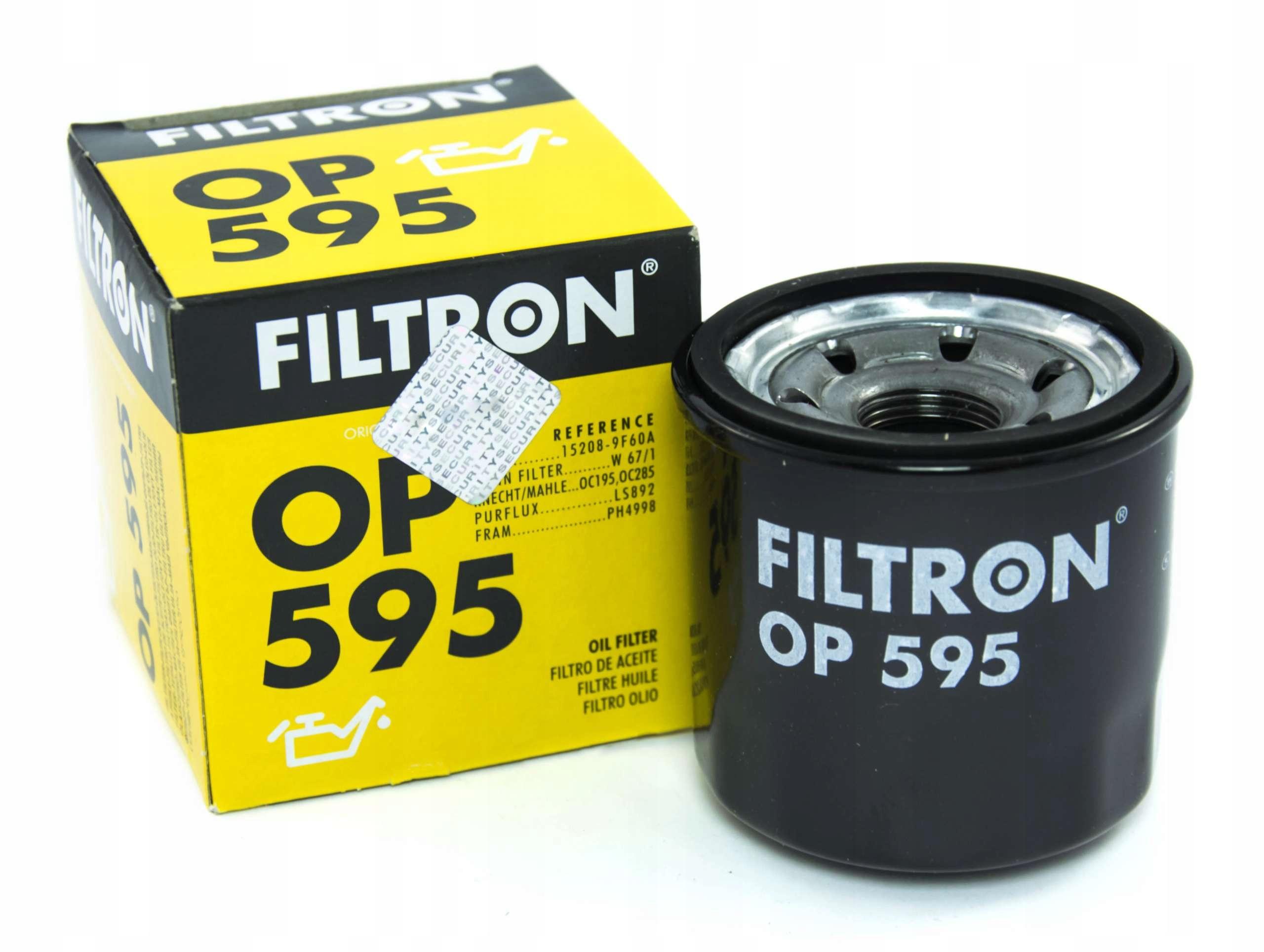 фильтр масла op595 kia mazda nissan renault subaru