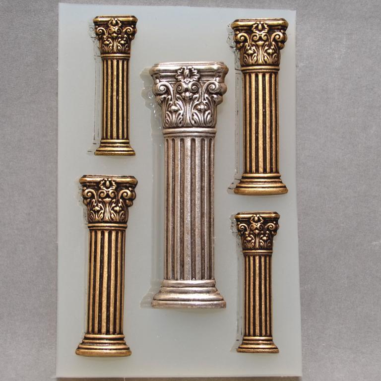 Silikónová forma - Klasické stĺpce