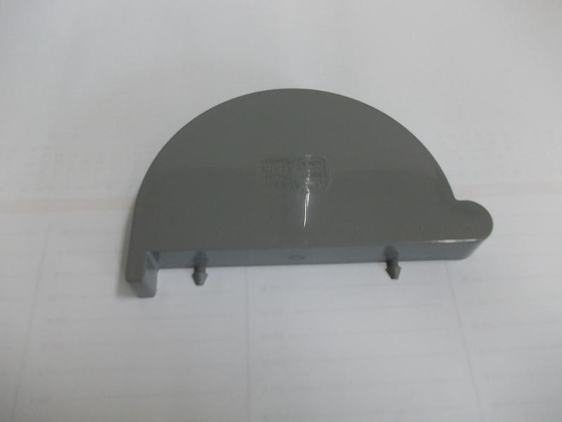 Scala Denko vľavo PVC G125 tmavo sivá