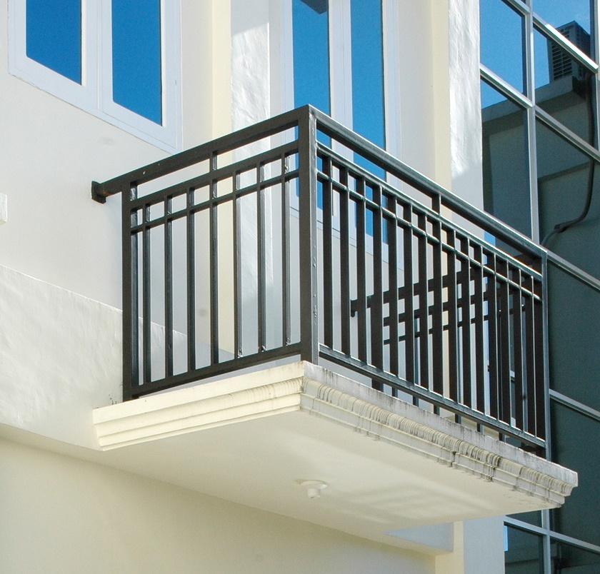 Balkon W Domu Jednorodzinnym: Balustrada Balkonowa, Tarasowa, Barierka TREBOR 7428771578