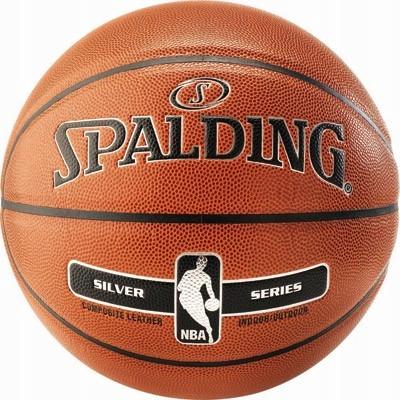 Lopta SPALDING NBA STRIEBRO V/Z 5
