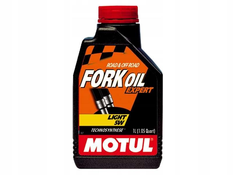 MOTUL Fork Oil Expert Light 5W 1Л