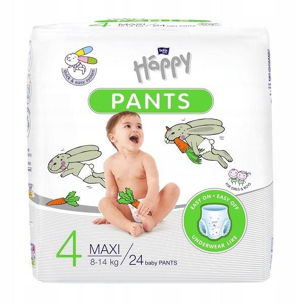 Pieluchomajtki Happy Pants Maxi 8-14kg 24szt.