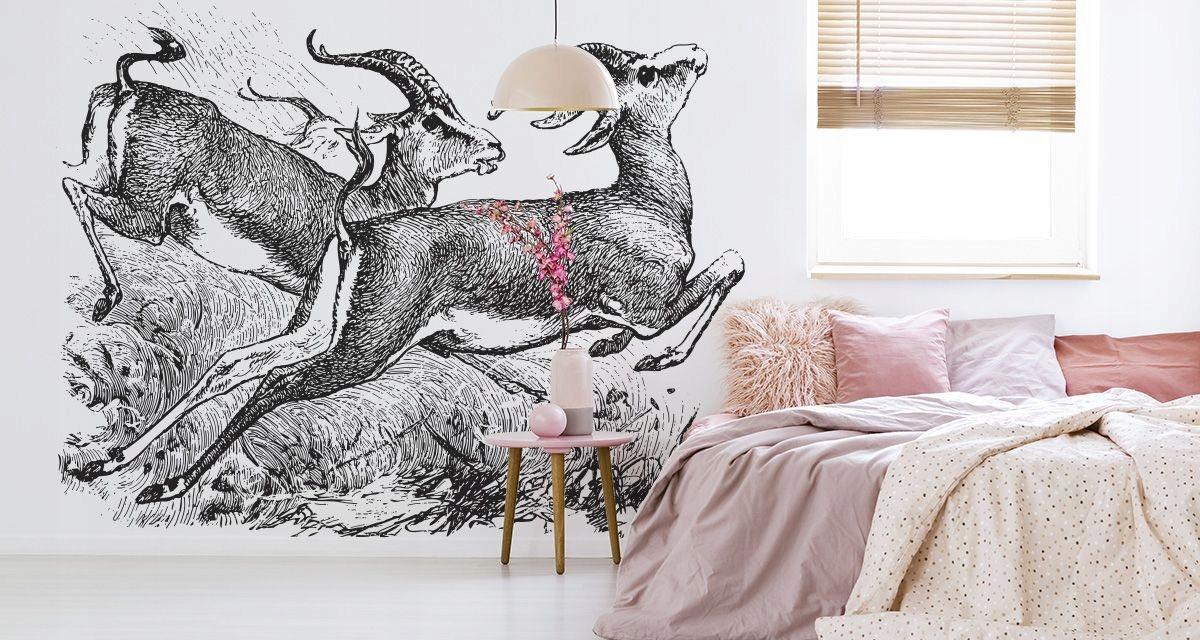 Nástenné maľby Gazelle Vintage 300 x 450 /101731444