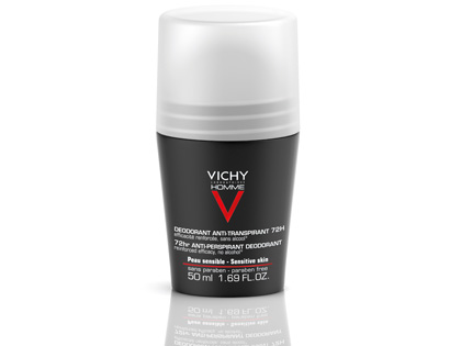 VICHY Homme Antyperspirant w kulce 72H roll-on