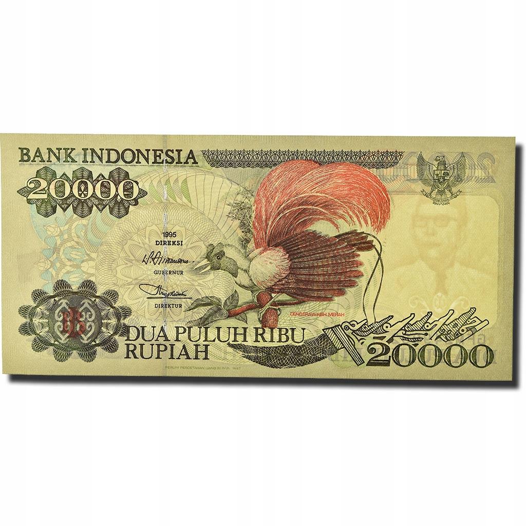 Банкнота, Индонезия, 20000 рупий, 1992-1995 гг., КМ: 1