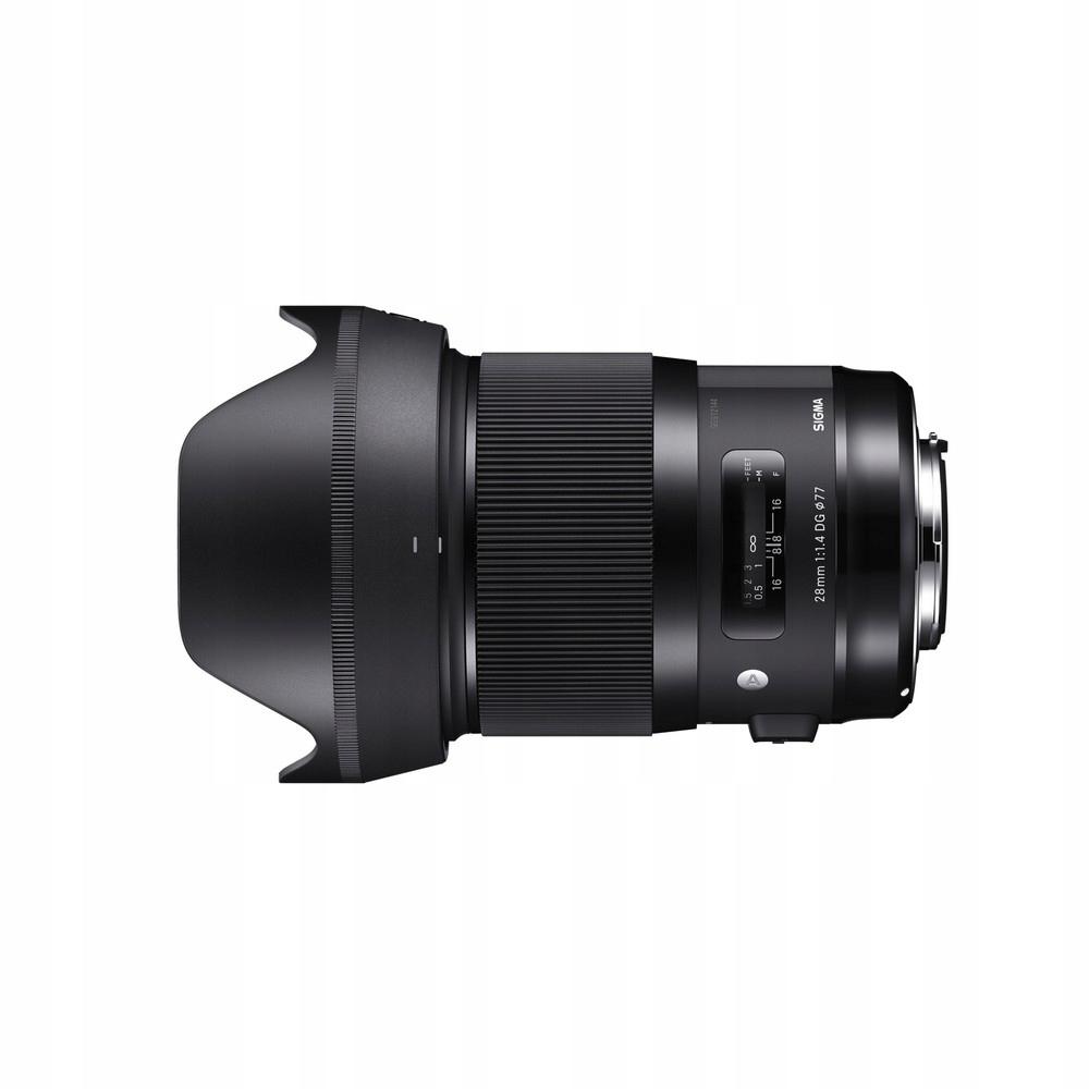 Item Art SIGMA 28mm f/1.4 28/1.4 DG HSM Canon NEW!
